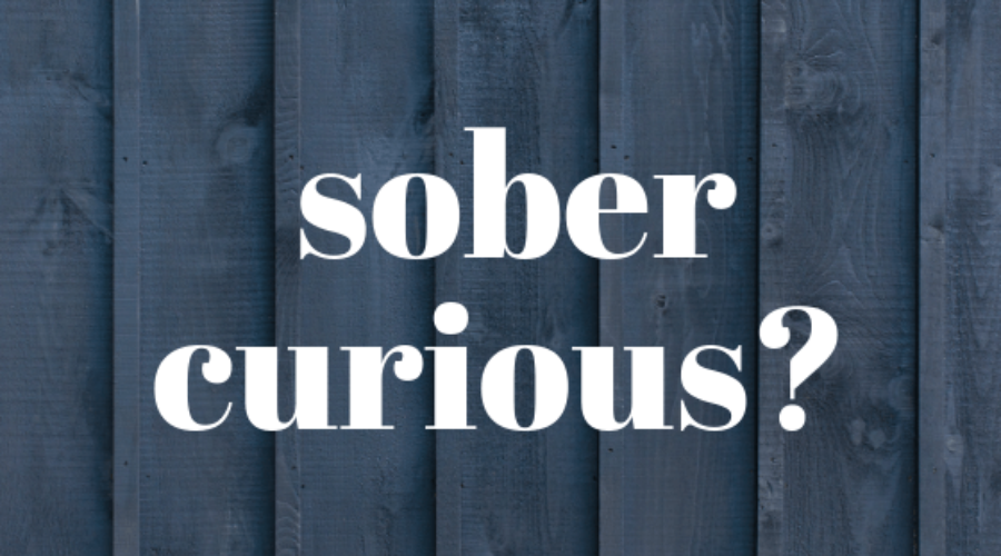 What does it mean to be sober curious?